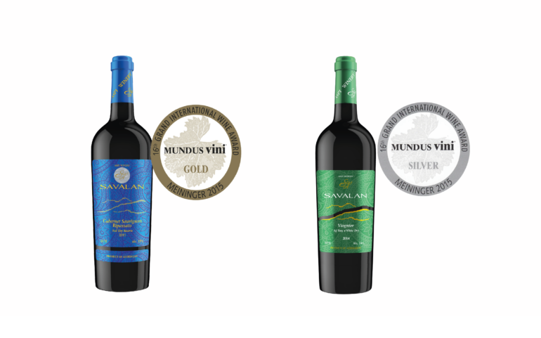 Azeri SAVALAN wines were awarded gold and silver medals in Germany at the international MUNDUS VINI 2015