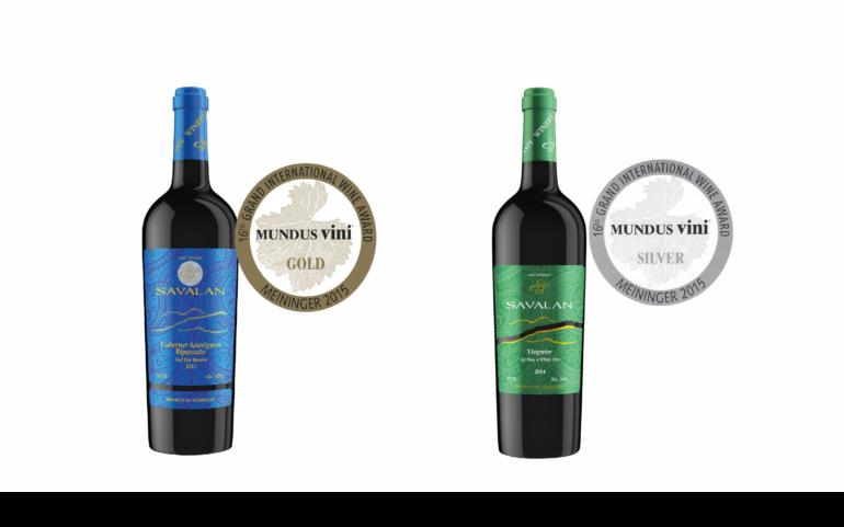 Азербайджанские вина SAVALAN удостоены золотой и серебряной медалей в Германии на международном конкурсе MUNDUS VINI 2015