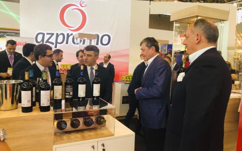 Savalan wines  in the world's largest food innovation exhibition