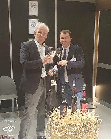 "SAVALAN TAKES PART IN ""WINE PROFESSIONAL"" IN AMSTERDAM"