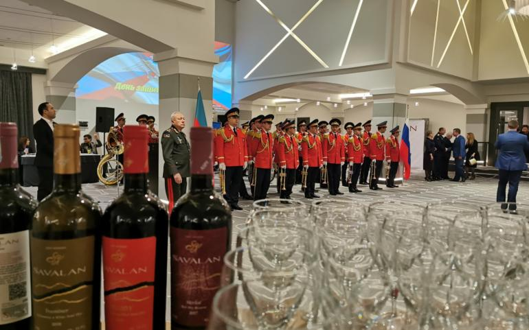 An event in the embassy of the Russian Federation on 23 rd February