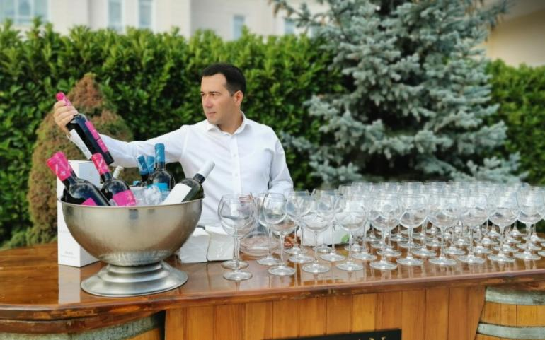 Barbecue party at Qafqaz Riveside Hotel